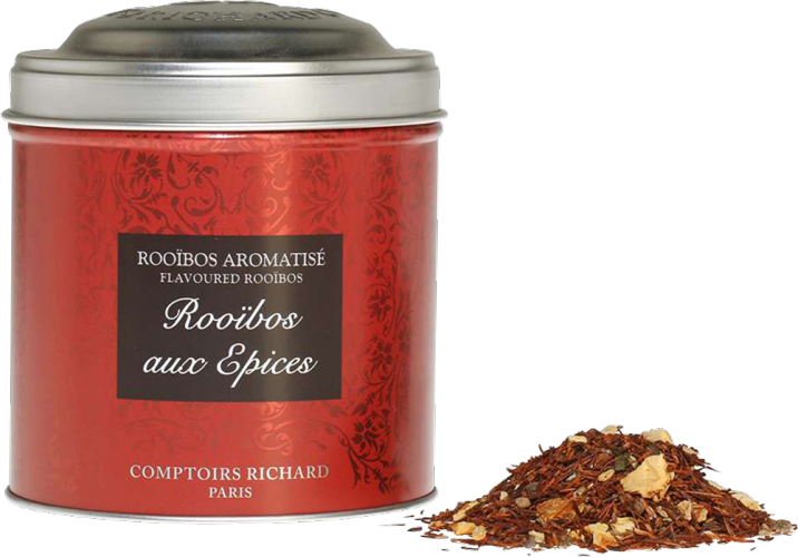Comptoirs Richard The Boite Metal 100g Rooibos Aux Epices Nevers